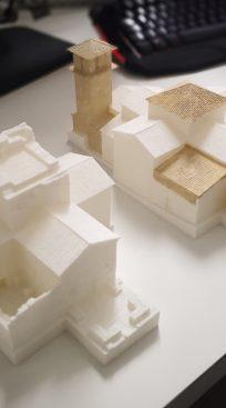 Impresión en 3D de Santa María de Melque